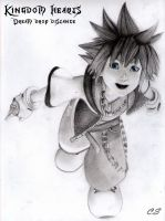 Sora Kingdom Hearts Dream Drop Distance by Cate397