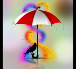 Umbrella vector by r-fl