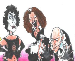 Rocky Horror Cartoon by PeRsPeCtIvEartworks