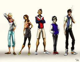 Avatar Teens by rocom