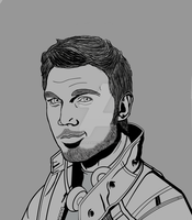 Chris Pratt Attempt by McKravendrawings