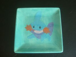 Mudkip Plate 1 by ZooManiac