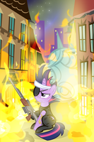 Escape From Manehattan by PixelKitties