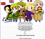 Hetalia Journal Skin by bunnydesuuu