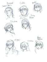 The Crucible doodles by ArtieDrawings