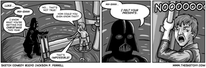 SC: A Star Wars Christmas Comic by DeathbyChiasmus
