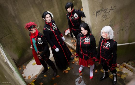 D.Gray-man - Exorcists by KashinoRei