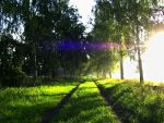 Colorful Sunbeam by poisen2014