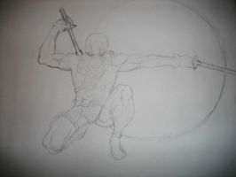 Deadpool WIP 2 by milliondollarempire