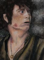 Frodo Baggins - The Lord of the Ring by sdr-art