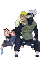 Team Kakashi by animemarianaruto