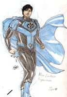Blue Lantern Superman by kyomusha
