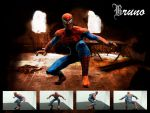 Spiderman Papercraft by BrunoPigh