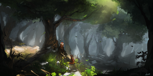 Forest symphony by leer5