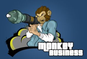 Trevor Monkey Business by H8orSaints