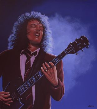 Angus Young by PaulMeijering