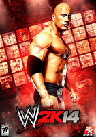 Wwe 2k14 Cover (v2) by T1beeties