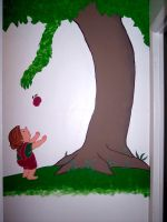 Giving Tree Mural by neonengine