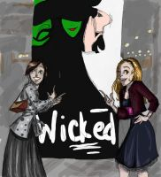 Wicked poster by pixarjunkie