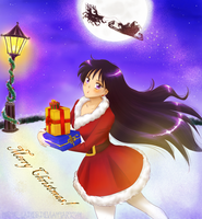 Sailor Moon - Xmas 2013 by Mistic-Ladies