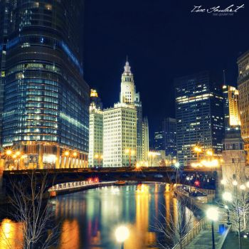 Chicago Lights by IsacGoulart