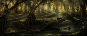 Swamp by DeivCalviz