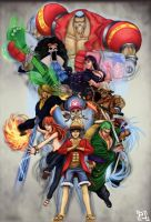 One piece fanart by PLSN