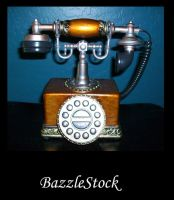 Old Fashioned Phone by BazzleStock