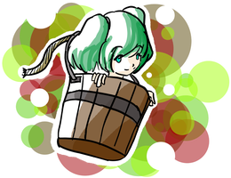 Bucket Pop by emka103