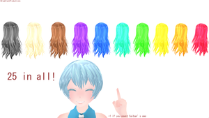 Hair texture pack #1 070 by Cdraw1998
