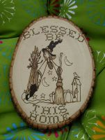Blessed Be sampler by laurapalmerwashere