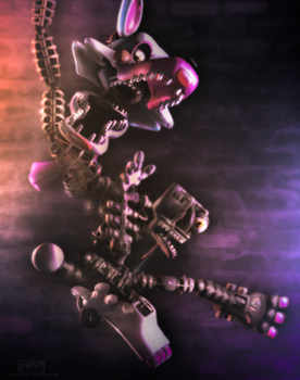 [SFM/FNAF2] Mangle. by NikzonKrauser