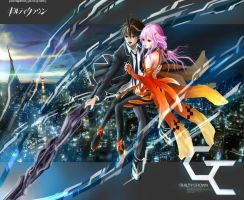 Guilty Crown : My Dearest Shu and Inori by JP-909