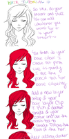 Paint Tool SAI: Hair tutorial by lonehuntress