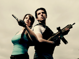 Chris and Lara - Got your back by Snakethoot