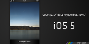 iOS 5 - Teaser by jakeroot