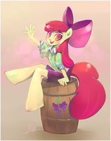 Applebloom by liea