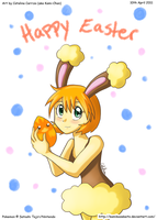 Kasumi Wish You a Happy Easter by Kamiflor