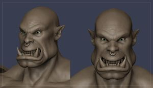 Orc WIP 02 by Otto-V