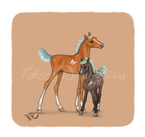 Seasoul Horses - Icon 11 by Tattered-Dreams