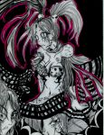 Numba 50 - Black and Pink by Foltzy