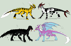 Dragon Auctions -SOLD- by DemoniaTheGuardian