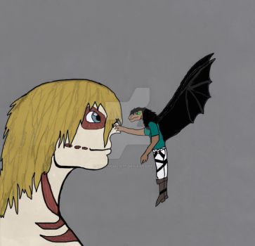 A Titan and a Dragon by HPfangirl9177