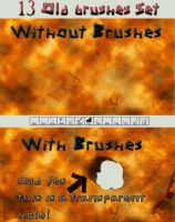 13 Old brushes set by ThaMex4lif3