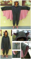 Fruit Bat Kigurumi by Kairillia