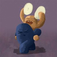 Critter banging cymbals by joojy