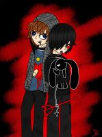 Jake and Damien... Oh and Mikku by TheRealTDAGeena