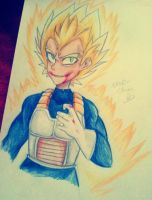 Vegeta -  This is how it ends by Nadi-Chan