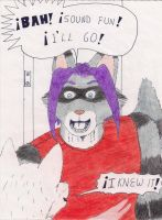 Angelo Racoon Pedido 3 by RaptecClawtooth