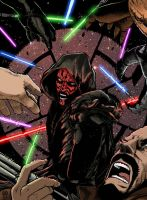 Darth Maul colors done low res by BDixonarts